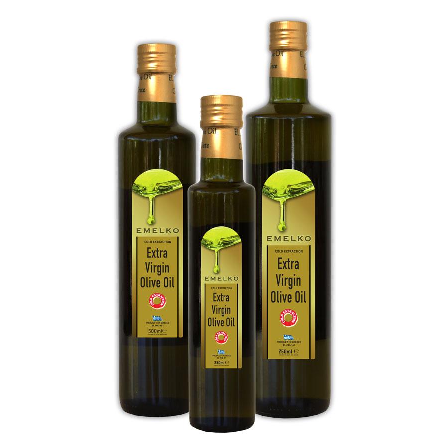 Emelko Extra Virgin Olive Oil Dorica Bottle