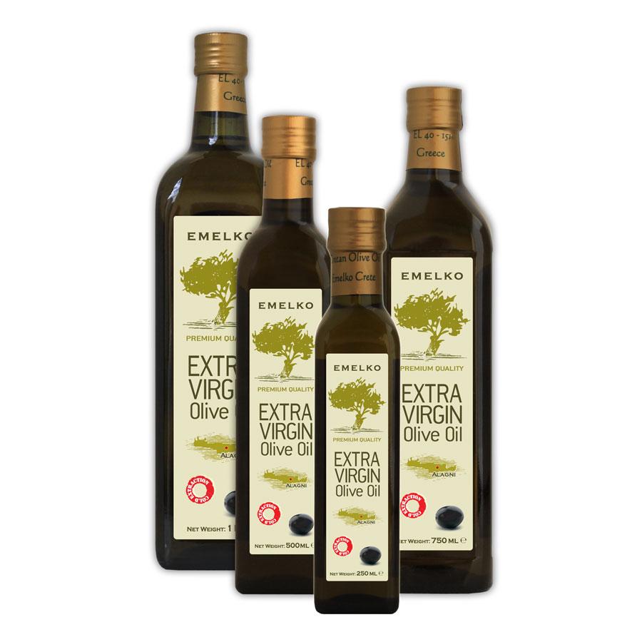 Emelko Extra Virgin Olive Oil Marasca Bottle