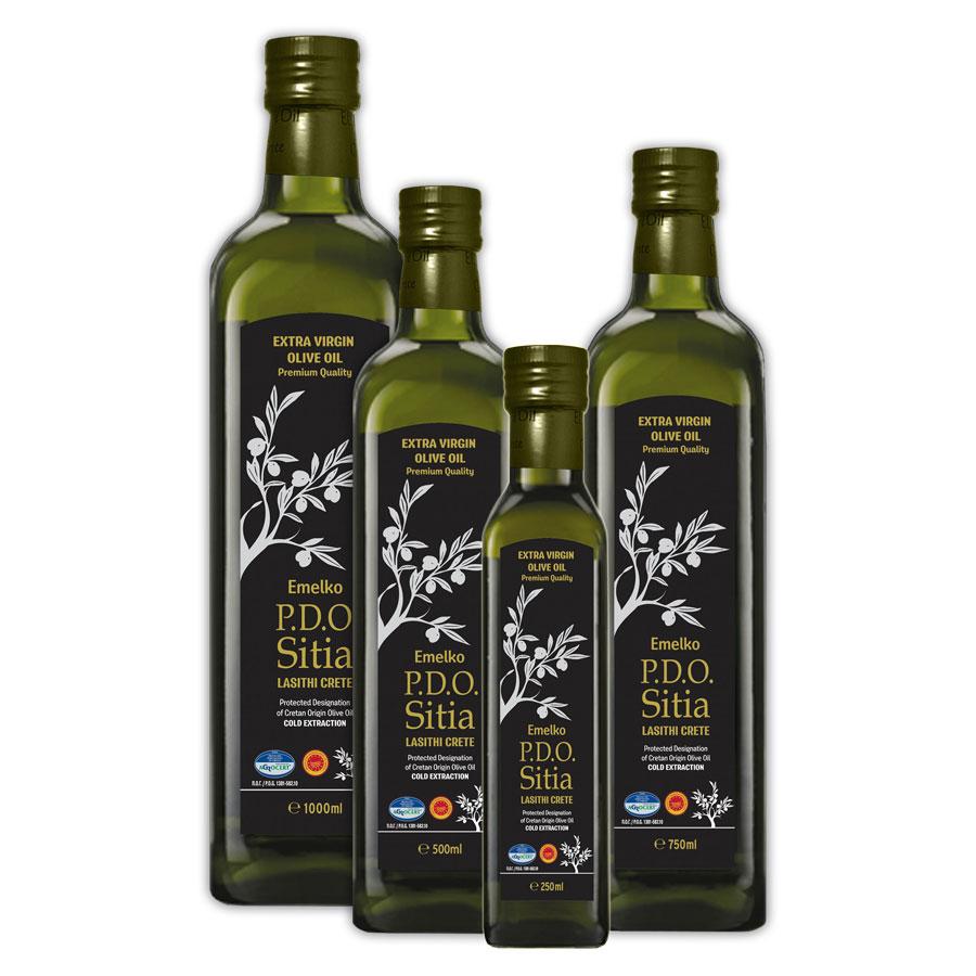 PDO Sitia - Emelko – Extra Virgin Olive Oil