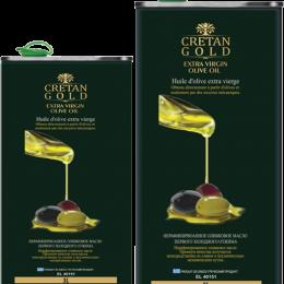 Cretan Gold - extra virgin olive oil - TIN